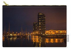 Carry-all Pouch featuring the photograph Marina by Ryan Photography