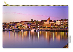Carry-all Pouch featuring the photograph Marina Sunset, Mindarie by Dave Catley