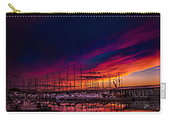 Marina Sunset Carry-all Pouch