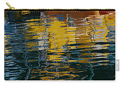 Marina Water Abstract 2 Carry-all Pouch by Fraida Gutovich