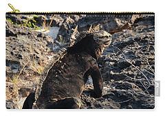 Marine Iguana, Amblyrhynchus Cristatus Carry-all Pouch