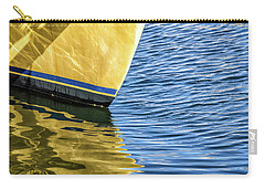 Carry-all Pouch featuring the photograph Maritime Reflections by Louise Lindsay
