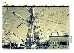 Maritime Spiderweb Carry-all Pouch by Susan Lafleur