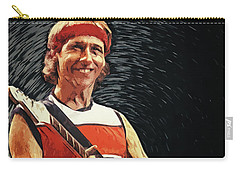 Mark Knopfler Carry-all Pouch by Taylan Apukovska