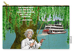 Mark Twain On The Mississippi Carry-all Pouch