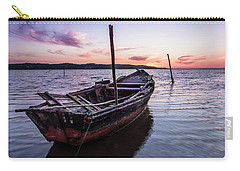 Marked By Time Carry-all Pouch by Edgar Laureano
