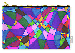 Marker Mosaic Carry-all Pouch