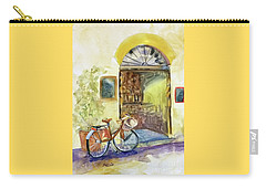 Market Day In Lucca Carry-all Pouch by Bonnie Rinier