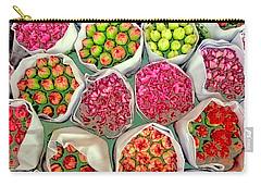 Market Flowers - Hong Kong Carry-all Pouch