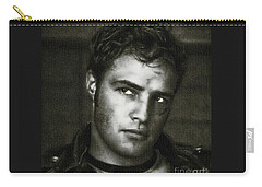 Marlon Brando - Painting Carry-all Pouch