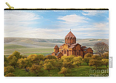 Marmashen Monastery Surrounded By Yellow Trees At Autumn, Armeni Carry-all Pouch