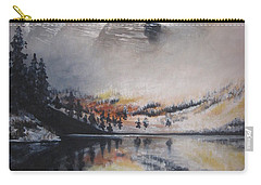 Maroon Bells Carry-all Pouch by Barbara Prestridge