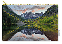 Maroon Bells Sunset Carry-all Pouch