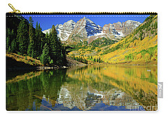 Maroon Lake Autum - 1 Carry-all Pouch
