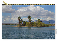 Marooned Palms Carry-all Pouch by Renie Rutten