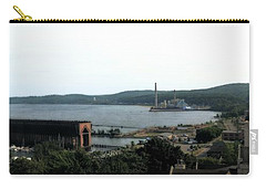 Marquette Michigan Carry-all Pouch by Michelle Calkins