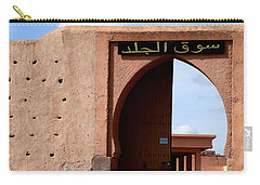 Carry-all Pouch featuring the photograph Marrakech 1 by Andrew Fare