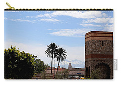 Carry-all Pouch featuring the photograph Marrakech 2 by Andrew Fare