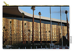 Carry-all Pouch featuring the photograph Marrakech Airport 1 by Andrew Fare