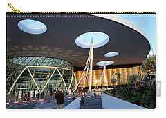 Carry-all Pouch featuring the photograph Marrakech Airport 2 by Andrew Fare