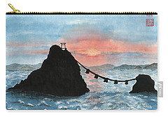 Married Couple Rocks At Sunrise Carry-all Pouch