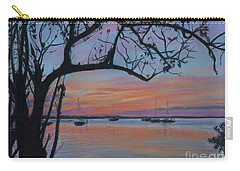 Marsh Harbour At Sunset Carry-all Pouch