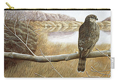 Marsh Hawk Carry-all Pouch