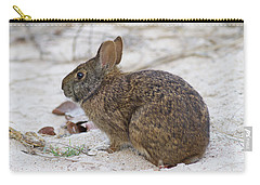 Marsh Rabbit On Dune Carry-all Pouch