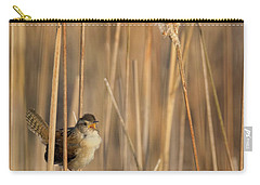 Marsh Wren Carry-all Pouch