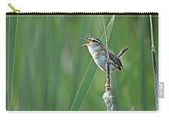 Marsh Wren Carry-all Pouch