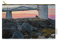 Marshall Point Reflection At Sunrise Carry-all Pouch