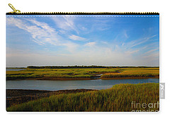 Marshland Charleston South Carolina Carry-all Pouch by Susanne Van Hulst