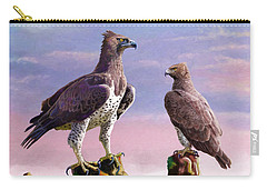 Martial Eagles Carry-all Pouch by Anthony Mwangi