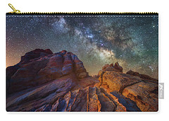 Carry-all Pouch featuring the photograph Martian Landscape by Darren White