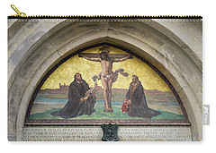 Martin Luther Depicted In Wittenberg Castle Church Carry-all Pouch