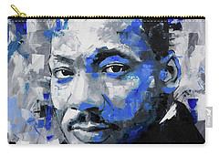 Carry-all Pouch featuring the painting Martin Luther King Jr by Richard Day