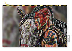 Martin Sensmeier - Digital Art Carry-all Pouch