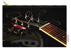 Carry-all Pouch featuring the photograph Martinez Guitar 003 by Kevin Chippindall