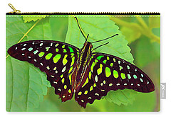 Marvelous Malachite Butterfly 2 Carry-all Pouch