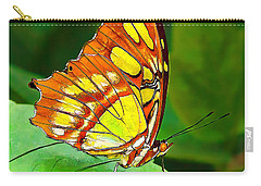 Marvelous Malachite Butterfly Carry-all Pouch