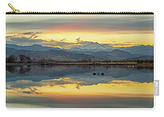 Carry-all Pouch featuring the photograph Marvelous Mccall Lake Reflections by James BO Insogna