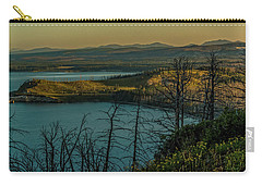 Mary Bay At Dawn Carry-all Pouch by Yeates Photography