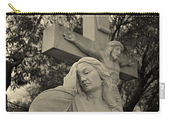 Mary Magdalene At The Crucifixion Carry-all Pouch