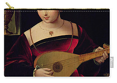 Mary Magdalene Playing The Lute Carry-all Pouch