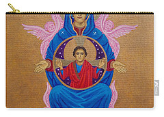Mary Mother Of Mercy Icon - Jubilee Year Of Mercy Carry-all Pouch by Michele Myers