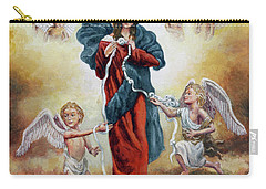 Mary Untier Of Knots Carry-all Pouch