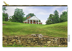 Carry-all Pouch featuring the photograph Marye's House by John M Bailey