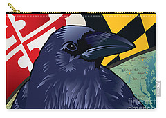 Maryland Citizen Raven Carry-all Pouch