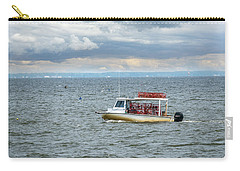 Maryland Crab Boat Fishing On The Chesapeake Bay Carry-all Pouch