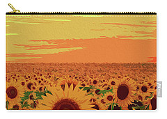 Maryland Sunflowers Carry-all Pouch